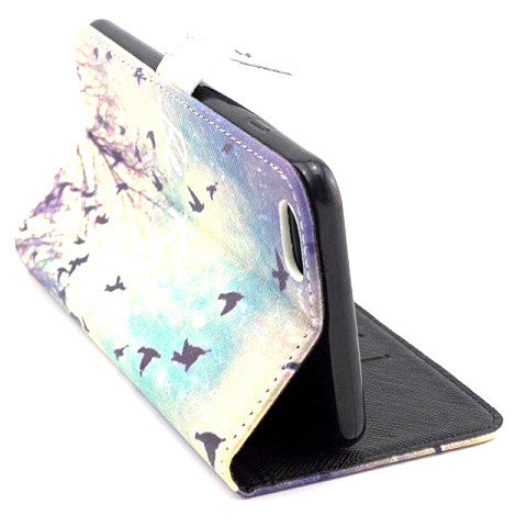 Stand Leather Case for iPhone 6 Plus - CELLRIZON