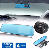 Car DVR G-Sensor 1080p Rear View Mirror - CELLRIZON  - 2