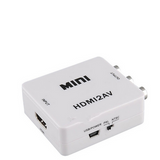 Mini HDMI Interface Standard HD Video Converter Box HD AV CVSB PAL / NTSC video output to HDMI Adapter AV hdmi2av dda55 _ p9526 - CELLRIZON