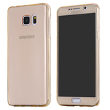 Samsung S7 & S7 Edge Crystal Clear Full Soft Body Cover Case - CELLRIZON  - 2