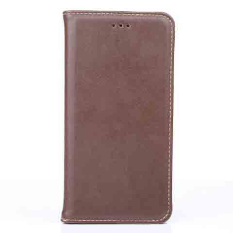 iphone 6 Plus 5.5inch Genuine Leather Wallet Case - CELLRIZON