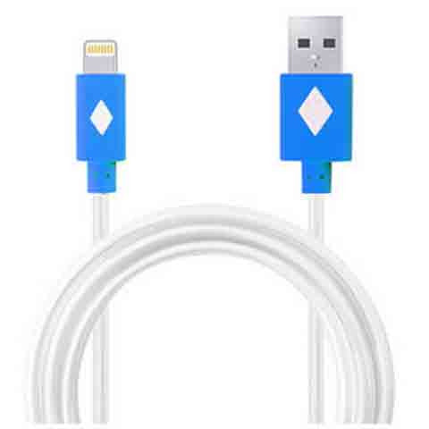 1m LED Light Flash Cable For iPhone 5 | 5c | 5s | 6 | 6plus - CELLRIZON  - 1