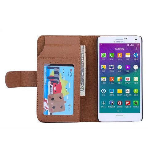 7 Cards Slot Wallet Case for Samsung Galaxy Note 4 - CELLRIZON