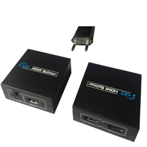 Full HD 1 x 2 Port HDMI Splitter amplificador repetidor 3D 1080 p mujer para HDTV - CELLRIZON  - 3
