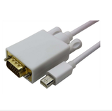 MINI DISPLAYPORT DP male to VGA Male Adapter Cable for Apple MacBook Air, Eyefinity 6ft 1.8m - CELLRIZON
