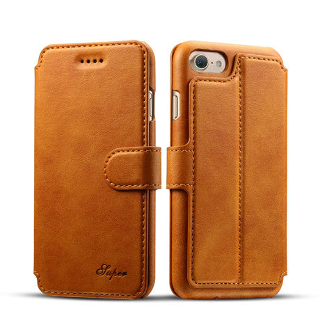 Calf Covered Wallet Phone Case For  IPhone7& 7 Plus - CELLRIZON  - 6