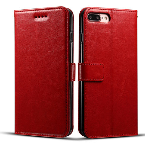 Fine lines printed leather Case For IPhone 7 7plus - CELLRIZON  - 4