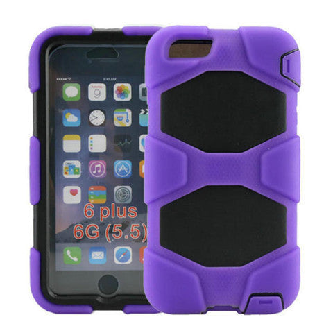 Hybrid Hard Stand Case for iPhone 6 Plus - CELLRIZON  - 7