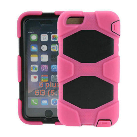 Hybrid Hard Stand Case for iPhone 6 Plus - CELLRIZON  - 5