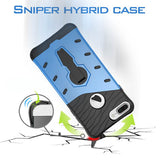 Armor 360 Bracket Case Cover For  iPhone 7 4.7'' - CELLRIZON  - 9