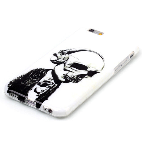 Headphones Skull hard case for iphone 6/6s/6 plus 5.5 inch - CELLRIZON  - 3
