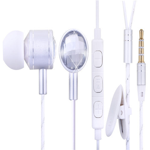 MSD-M30 Diamond In-Ear Earphones - CELLRIZON