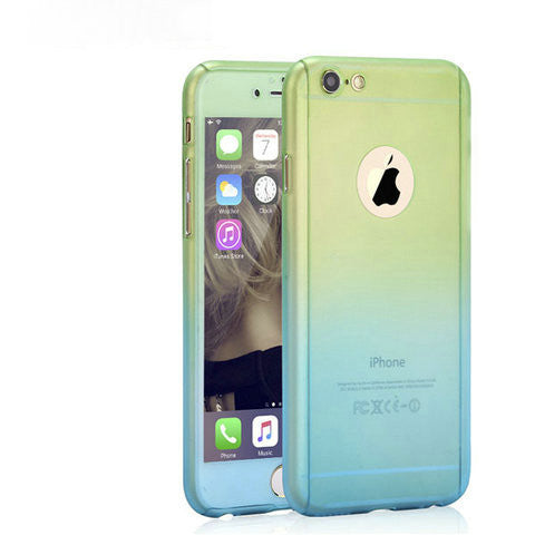 Gradient Full Coverage Case For iphone - CELLRIZON  - 7