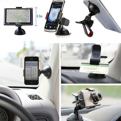 360 DEGREE CAR WINDSHIELD MOUNT CELL MOBILE PHONE HOLDER - CELLRIZON