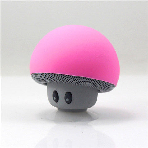 New Mini Subminiature Mushroom Portable Silicone Sucker Hands Wireless speaker mini Bluetooth Speaker BT280 - CELLRIZON