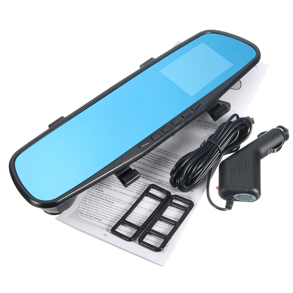 Car DVR G-Sensor 1080p Rear View Mirror - CELLRIZON  - 3