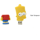 Cartoon simpson USB Flash Drive 2gb - CELLRIZON