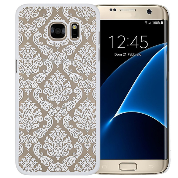 Samsung S7 & S7 Edge Damask Vintage Flower Pattern Case - CELLRIZON  - 3