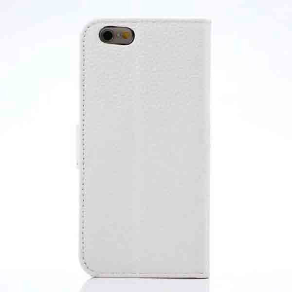 Lychee Embossed Leather Case for iphone 6 - CELLRIZON