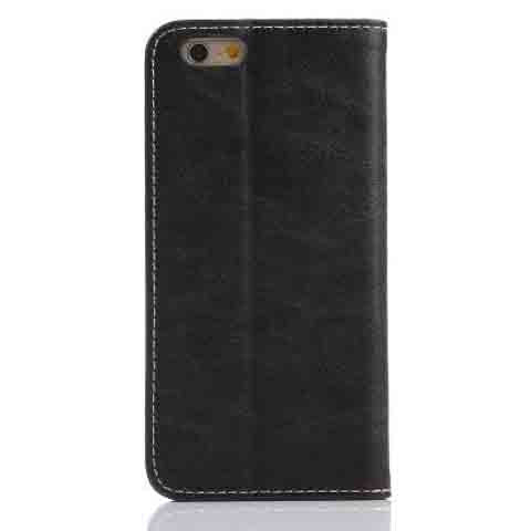 "iPhone 6 5.5"" Retro Horse Pattern PU Case - CELLRIZON"