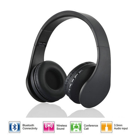 4 in 1 Bluetooth Stereo Headphones w/Mic - CELLRIZON
