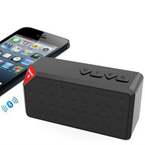 Mini X3 Bluetooth TF FM Radio Speaker - CELLRIZON