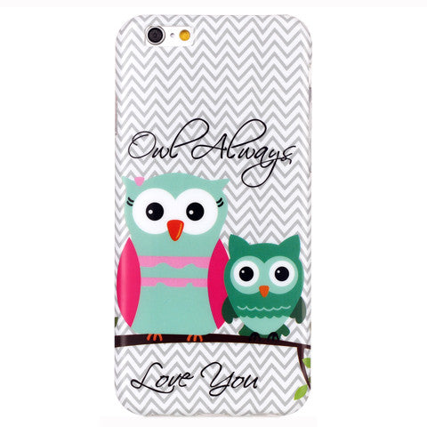 2 Owls Hard Case for iPhone 6/6S 4.7''/6 plus 5.5'' - CELLRIZON