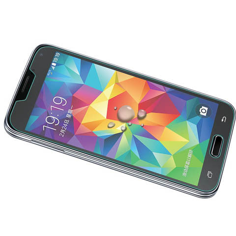 Tempered Glass Screen Cover Protector For Samsung Galaxy S5 - CELLRIZON  - 4