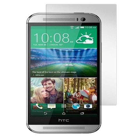 9H Anti Scratch Tempered Glass Screen Protector Guard Film For HTC One M8 - CELLRIZON
