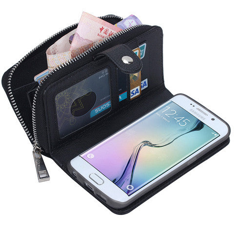 multi-cards and cash Wallet Case for Samsung Galaxy note5 - CELLRIZON