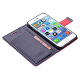 PU Leather Cover With Card Bag For Iphone 6 Plus 5.5 inch - CELLRIZON