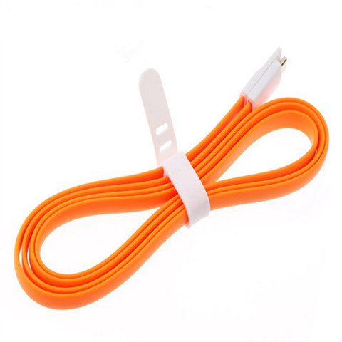 8pin Noodle Cable for iPhone 5 | 5c | 5s | 6 | 6plus | iOS 8.0 - CELLRIZON