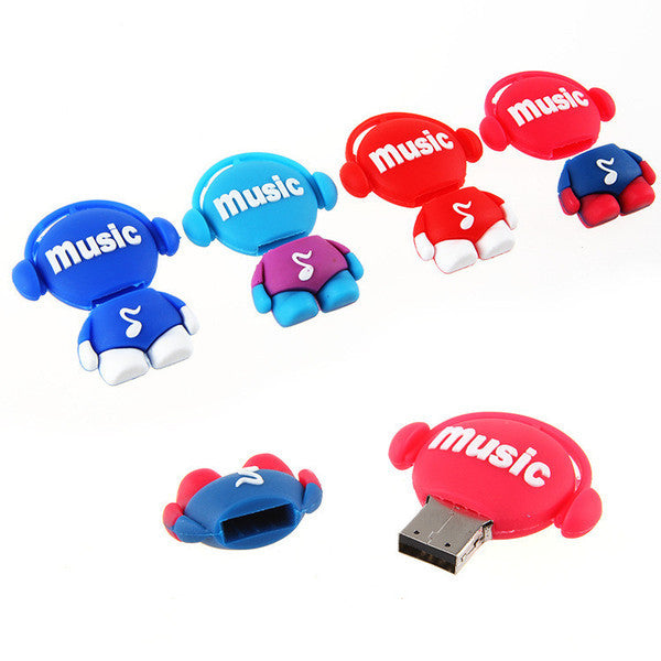 Cartoon Music USB Flash Drives 2/16gb - CELLRIZON