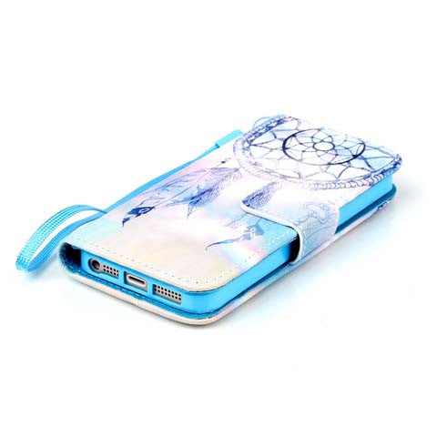 Key Campanula Wallet Leather Phone Cases Cover For iphone 5s/6/6 plus - CELLRIZON