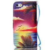 Hawaii Stand Leather Card Slot Case For iPhone 6/6 Plus - CELLRIZON