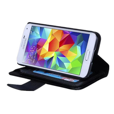 7 Cards Slot Wallet Case for Samsung S5 - CELLRIZON