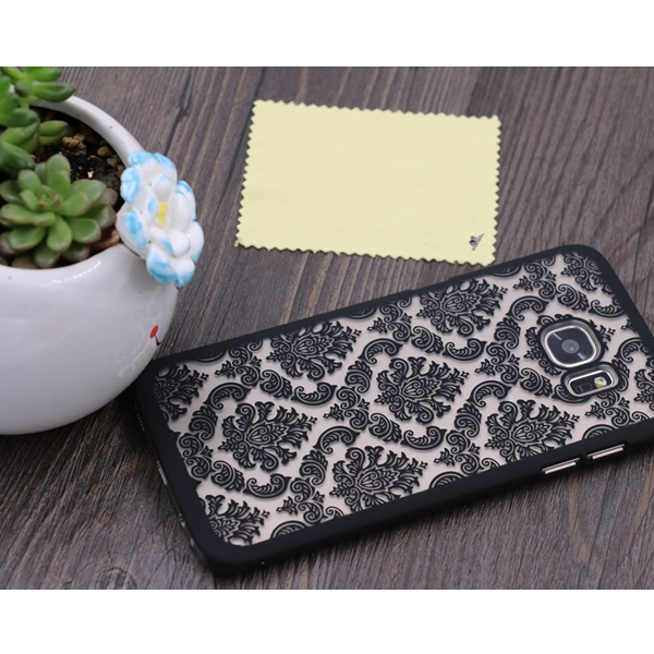 Samsung S7 & S7 Edge Damask Vintage Flower Pattern Case - CELLRIZON  - 5