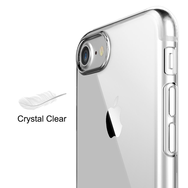 iPhone 7 & 7 Plus Clear Silicone Case - CELLRIZON  - 6