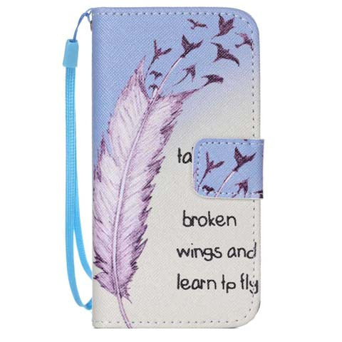 The feathers fly wallet standard case for iphone 6 4.7inch - CELLRIZON