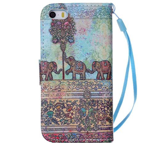 The Three Little Elephant Wallet Standard Case for iPhone 6 4.7inch - CELLRIZON