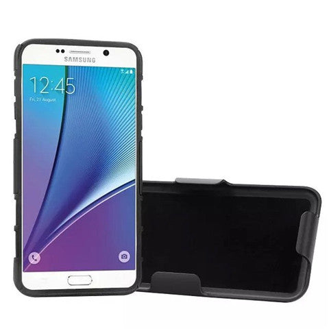 Armor Back Cover with Belt Clip for Samsung Galaxy Note 5 - CELLRIZON