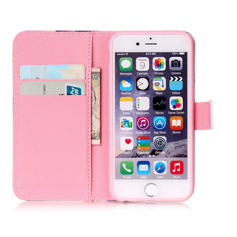"PU Leather Wallet Case for iPhone 6 4.7"" - CELLRIZON"