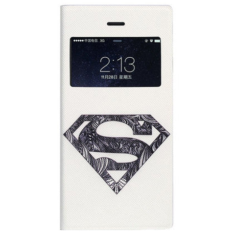 Super Man Leather Case for iPhone 6 - CELLRIZON