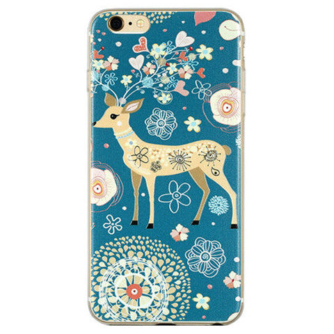Soft TPU Cartoon Case for iPhone 6 Plus 5.5inch - CELLRIZON
