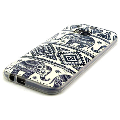 Tribe Style TPU Case for HTC One M8 - CELLRIZON