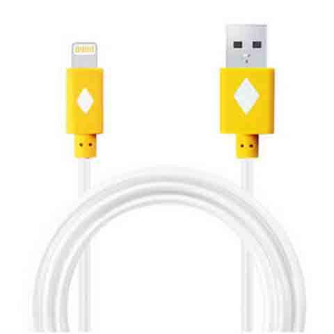 1m LED Light Flash Cable For iPhone 5 | 5c | 5s | 6 | 6plus - CELLRIZON  - 2