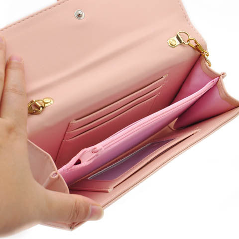PU Stylish Smartphone Wallet, Purse & Wristlet - Assorted Colors - CELLRIZON