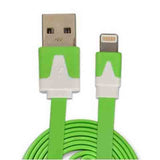 3m iPhone 5 | 5c | 5s | 6 | 6plus Flat Noodle USB Data Cable - CELLRIZON
