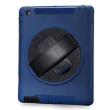 Clear TPU with PC Back Cover For ipad 4 - CELLRIZON