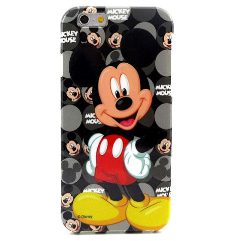 Cartoon Mickey TPU Case for iPhone 6 Plus Back Cover - CELLRIZON